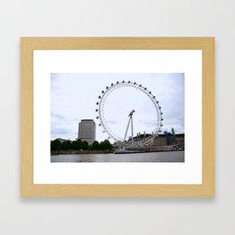 London Eye Framed Art Print