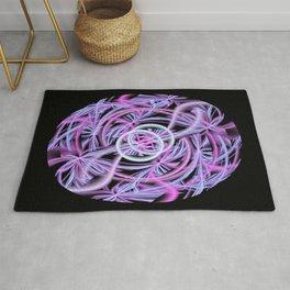 String Ball Abstract Rug