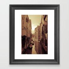 Venetian Anamnesis Framed Art Print