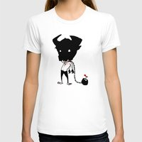 bull T-shirts featuring bull by Negative Dragon
