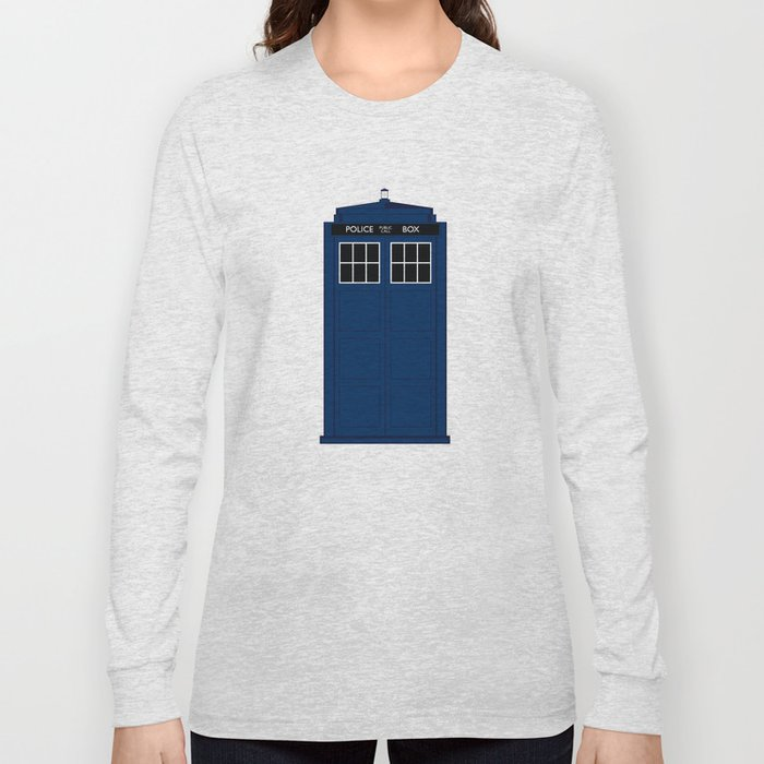 Doctor Who - The Doctor is in.....  Long Sleeve T-shirt