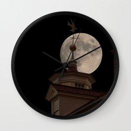 Moon Over Mount Vernon Wall Clock