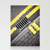 grid Stationery Cards featuring Grid by premedia