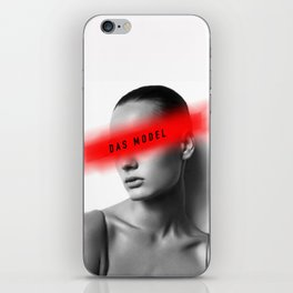 DAS MODEL iPhone Skin