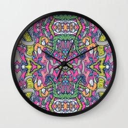 Mirrored World Wall Clock