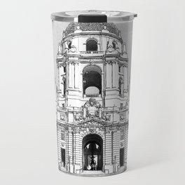 City Hall Pasadena. Travel Mug
