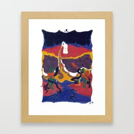 Vomit Upon Heavens Ashes Framed Art Print