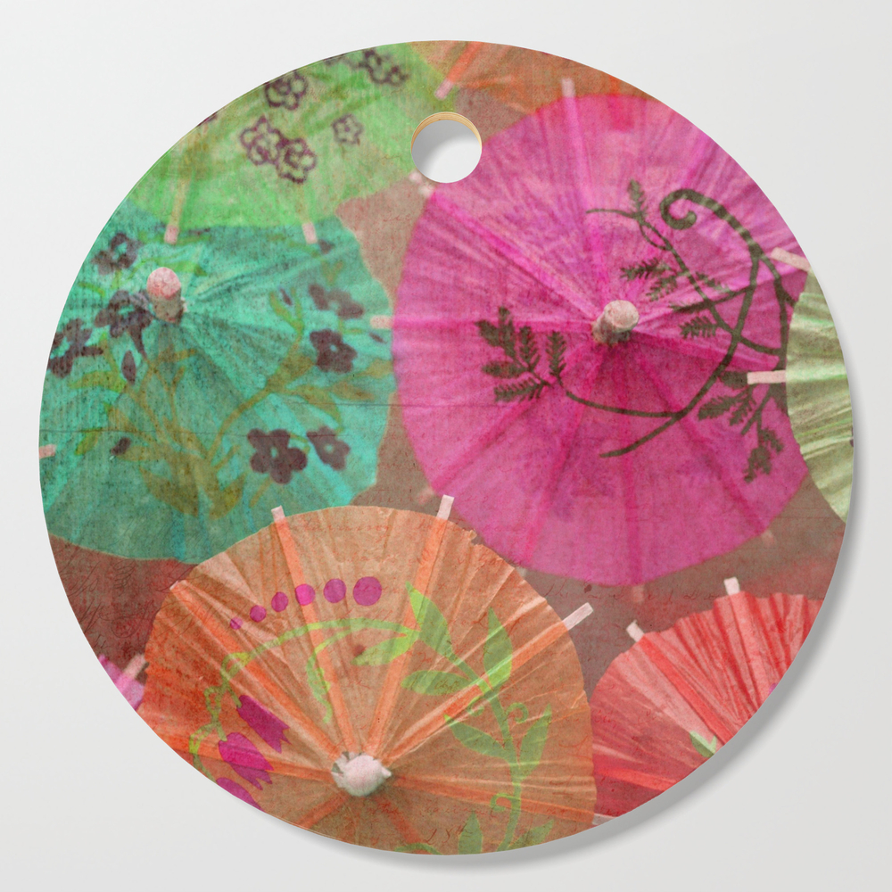 Parasols Tropical Punch Cutting Board by lisaargyropoulos (DCB2045468) photo