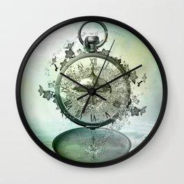 Timeless Flow Wall Clock
