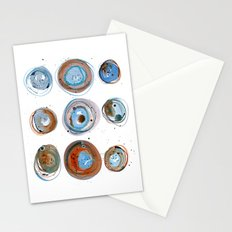Blue Moons Stationery Cards