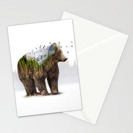 Wild I Shall Stay   Bear Stationery Cards