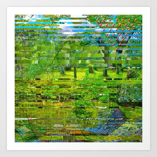 Landscape of My Heart (4 as 1) Art Print