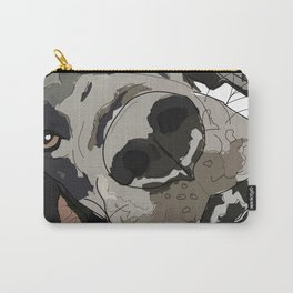 I Wuf You - Great Dane Carry-All Pouch