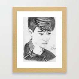 D.O Kyungsoo Framed Art Print