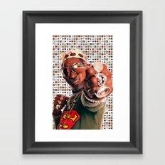 Scratch Framed Art Print