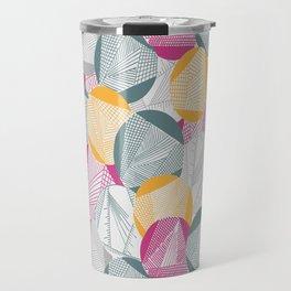 Tangent (Magenta) Travel Mug