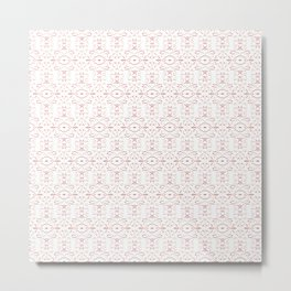 Valentine 3 pattern Metal Print
