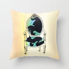 Curieux Throw Pillow