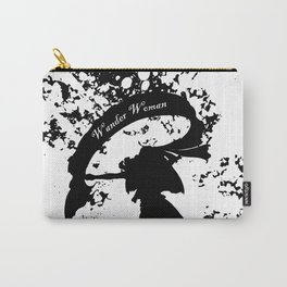 Wander Woman Splatter Carry-All Pouch