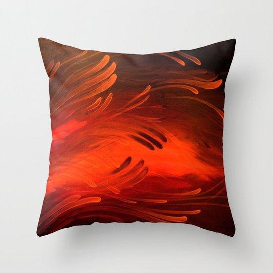 Embers Throw Pillow