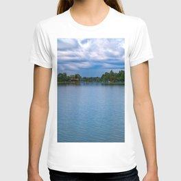 Sailing boats harbor T-shirt