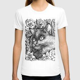 spring cat T-shirt