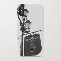 gucci iPhone & iPod Cases featuring Avenue De Monte Carlo by Lara Brambilla