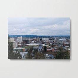 Spokane Cityscape  Metal Print
