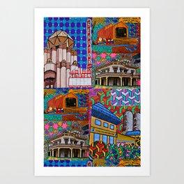 I Love Chico Bag #3 Art Print