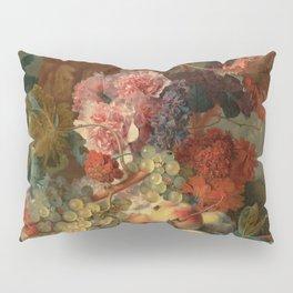 """Jan van Huysum """"Fruit Piece"""" Pillow Sham"""
