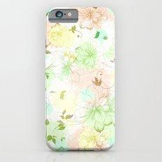 VINTAGE FLOWERS XVI - for iphone iPhone 6s Slim Case