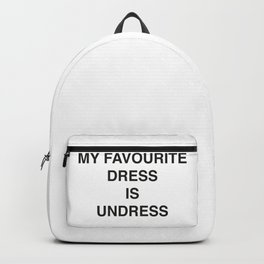 My favourite Dress Backpack