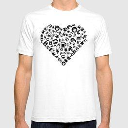 I Love Coffee | Caffeine Breakfast Sleep T-shirt