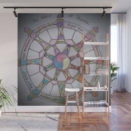 Wheel of Dharma II Wall Mural