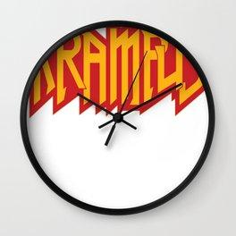 Hero Holidays - Xmas_ Christmas Krampus Wall Clock