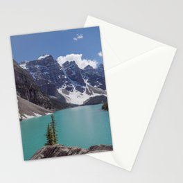 Lake Moraine Top View Stationery Cards
