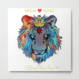 BlasChicInc(TM) HighKing(TM) Metal Print