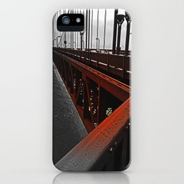 Crossing the Golden Gate iPhone Case