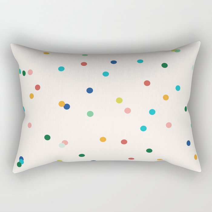 Confetti Rectangular Pillow