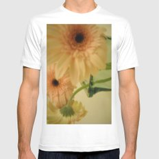 baby-pink daisy-petals ~ flowers Mens Fitted Tee SMALL White