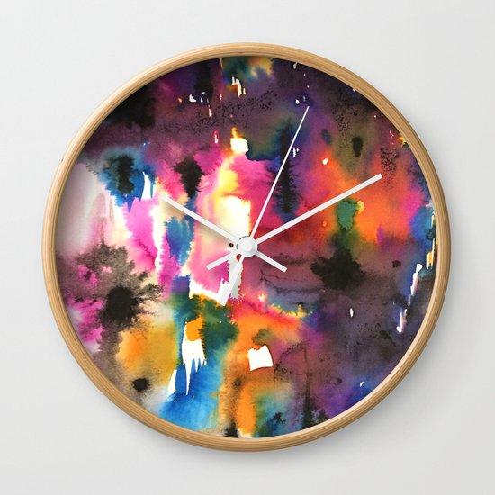 mystery pattern Wall Clock