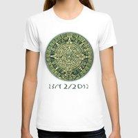 calendar T-shirts featuring Mayan Calendar 2012 by Bob Pestana