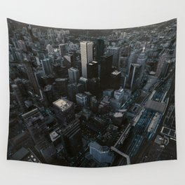 City Streets Wall Tapestry
