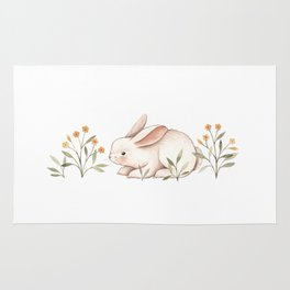 Blossom Bunny Rug