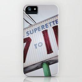 Superette iPhone Case