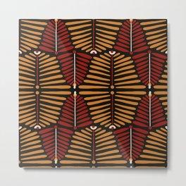 African Styles Pattern 6 Metal Print