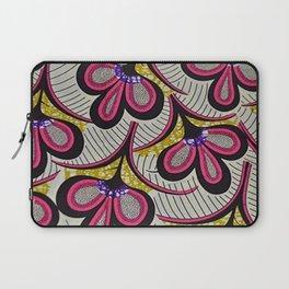 Floral Ankara Laptop Sleeve