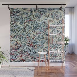 Abstract Number 3 Wall Mural