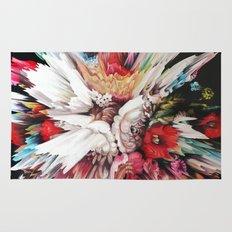 Floral Glitch II Rug
