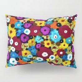 Mixed Flowers Pillow Sham